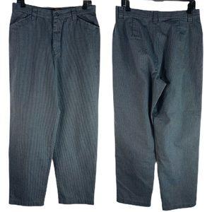 Vintage Riders Casual Gray High Waist Pants 12P